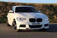 2014 BMW 1 SERIES 2.0 118D M SPORT 3d 141 BHP £14950.00