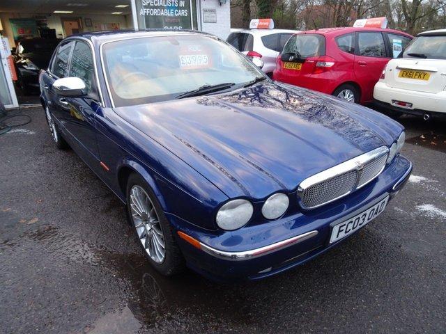 2003 03 JAGUAR XJ XJ6 3.0 V6 4d AUTO 240 BHP