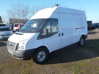 2012 FORD TRANSIT 350 125PS LWB HIGH ROOF VAN £7995.00
