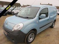 2010 RENAULT KANGOO 1.5 ML19 EXTRA DCI METALLIC BLUE 71205 MILES £3450.00