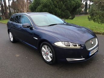 2013 JAGUAR XF 2.2 D LUXURY SPORTBRAKE 5d AUTO 200 BHP £15950.00