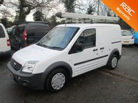 2012 FORD TRANSIT CONNECT 1.8 TDCi T200 SWB *SIDE DOOR*ROOF RACK+PIPE CARRIER* £4995.00