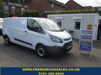2014 FORD TRANSIT CUSTOM  LONG WHEEL BASE,  DIESEL  SIX SPEED   TOW PACK FLASHING ROOF BECON  £7800.00