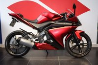 USED 2009 59 YAMAHA YZF-R125 RED,