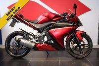 USED 2009 59 YAMAHA YZF-R125 RED***SOLD***