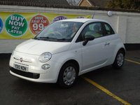 2010 FIAT 500 1.2 POP 3d 69 BHP £4000.00