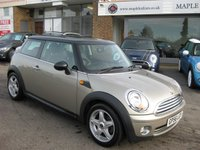 USED 2006 56 MINI HATCH COOPER 1.6 COOPER 3d 118 BHP Black Lounge Leather Full service History Chili Pack