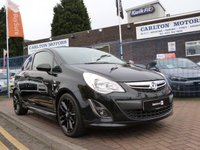 2012 VAUXHALL CORSA 1.2 LIMITED EDITION 3d  £6495.00