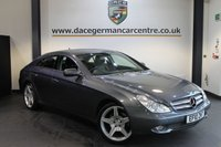 USED 2010 10 MERCEDES-BENZ CLS CLASS 3.0 CLS350 CDI 4DR AUTO 222 BHP + HALF BLACK LEATHER INTERIOR + SATELLITE NAVIGATION + BLUETOOTH + HEATED MEMORY SEATS + XENON LIGHTS + MEMORY PACKAGE + DVD PLAYER + CRUISE CONTROL + PARKING SENSORS + 19 INCH ALLOY WHEELS +