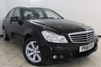 USED 2012 61 MERCEDES-BENZ C CLASS 2.1 C220 CDI BLUEEFFICIENCY SE 4DR AUTOMATIC 168 BHP LOW MILEAGE + CRUISE CONTROL + PARKING SENSORS + BLUETOOTH + ALLOY WHEELS