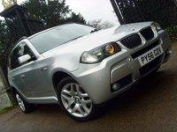 2006 BMW X3 2.0 D M SPORT 5d 148 BHP £7499.00
