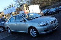 2007 TOYOTA AVENSIS 1.8 T2 COLOUR COLLECTION VVT-I 4d 128 BHP £SOLD