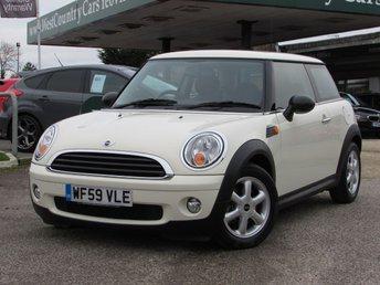 2009 MINI HATCH ONE 1.4 ONE 3d AUTO 94 BHP £6500.00