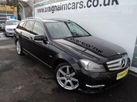 USED 2011 61 MERCEDES-BENZ C CLASS 2.1 C220 CDI BLUEEFFICIENCY SPORT ED125 5d AUTO 170 BHP Navigation+Bluetooth+Full Leather