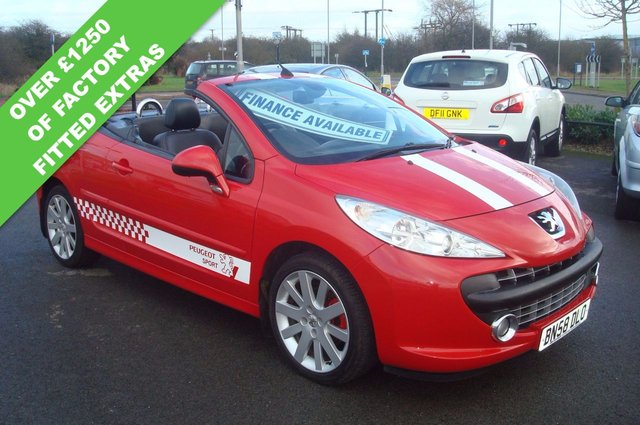 2008 58 PEUGEOT 207 1.6 CC GT HDI 2d 108 BHP FULL LEATHER