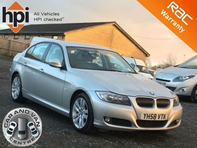 2008 58 BMW 3 SERIES 318D SE LCI FACELIFT 4d