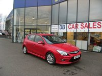 USED 2010 60 HYUNDAI I30 1.6 EDITION 5d 124 BHP FREE 12 MONTHS RAC WARRANTY AND FREE 12 MONTHS RAC BREAKDOWN COVER