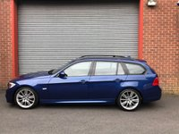 USED 2010 10 BMW 3 SERIES 2.0 320I M SPORT TOURING 5d 168 BHP DAKOTA LEATHER+VERY RARE MANUAL+FULL SERVICE HISTORY