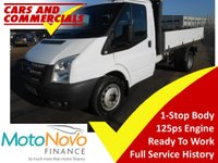 2013 FORD TRANSIT Tipper 350 MWB 1-Way 125ps (1-Stop Body) £10750.00