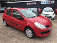 USED 2006 56 RENAULT CLIO 1.1 EXPRESSION 16V 5d 75 BHP