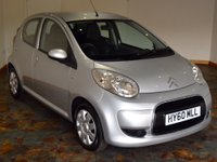 USED 2010 60 CITROEN C1 1.0 i VTR+ Hatchback 5dr Petrol Manual (103 g/km, 68 bhp)