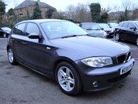 2005 BMW 1 SERIES 1.6 116I SPORT 5d 114 BHP £3295.00