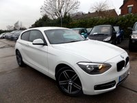 2012 BMW 1 SERIES 1.6 116I SPORT 3d 135 BHP £9995.00