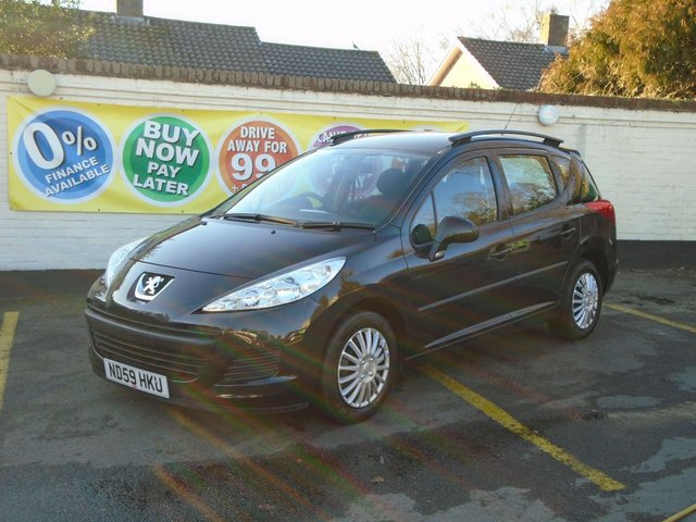 2009 59 PEUGEOT 207 1.4 SW S 5d 95 BHP Sorry Now Sold