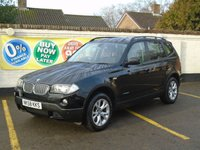 2008 BMW X3 2.0 D SE 5d AUTO 175 BHP £8000.00