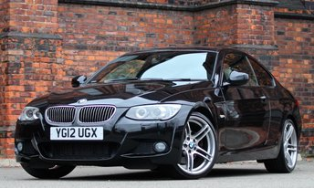 2012 BMW 3 SERIES 3.0 330D M SPORT 2d AUTO 242 BHP £16975.00