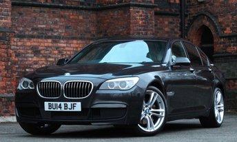 2014 BMW 7 SERIES 3.0 ACTIVEHYBRID 7 M SPORT 4d AUTO 316 BHP £21975.00