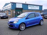 2007 RENAULT CLIO 2.0 RENAULTSPORT 197 3d 195 BHP £4295.00