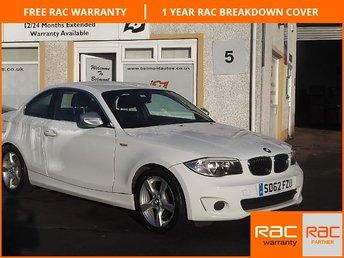 2012 BMW 1 SERIES 2.0 118D EXCLUSIVE EDITION 2d 141 BHP £9150.00