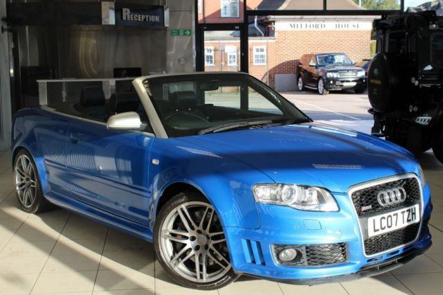 View our AUDI RS4 CABRIOLET
