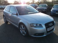 USED 2007 57 AUDI A3 2.0 TDI S LINE 3d 168 BHP ***Stunning example - High specification***
