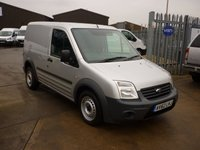 2012 FORD TRANSIT CONNECT 1.8TDCi T220 SWB Low Roof  75 BHP - SILVER  £5495.00