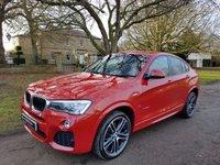 2015 BMW X4 2.0 XDRIVE20D M SPORT 4d AUTO 188 BHP £31950.00