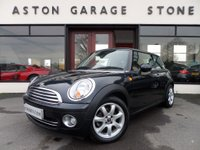 2007 MINI HATCH COOPER 1.6 COOPER 3d 118 BHP **AIR CON * 1/2 LEATHER ** £4488.00