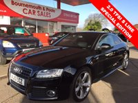 2010 AUDI A5 2.0 TFSI S LINE SPECIAL EDITION 2d 178 BHP £10495.00