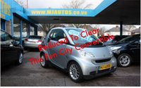 USED 2009 09 SMART FORTWO CABRIO 1.0 PASSION AUTO Great FUN & SMART Convertible!! Electric Roof
