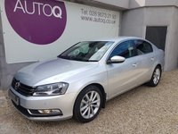 2014 VOLKSWAGEN PASSAT 2.0 EXECUTIVE TDI BLUEMOTION TECHNOLOGY 4d 139 BHP £10495.00