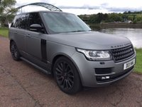 USED 2014 64 LAND ROVER RANGE ROVER 4.4 SDV8 AUTOBIOGRAPHY 5d AUTO 339 BHP **FULL BLACK PACK**