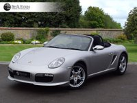 USED 2008 08 PORSCHE BOXSTER 2.7 24V SPORT EDITION 2d AUTO 242 BHP PCM SATELITE NAVIGATION HEATED SEATS