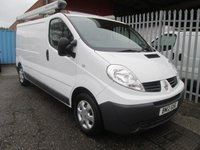 2012 RENAULT TRAFIC LL29 2.0 DCi LWB *ONE OWNER*26000 MILES* £8495.00