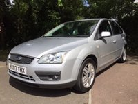 USED 2007 07 FORD FOCUS 1.6 GHIA 16V 5d 116 BHP