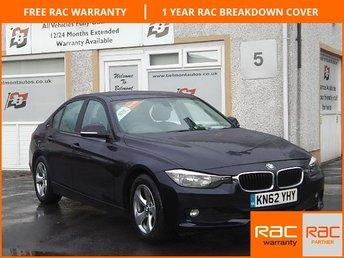 2012 BMW 3 SERIES 2.0 320D EFFICIENTDYNAMICS 4d 161 BHP £12000.00