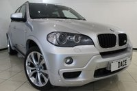 USED 2010 10 BMW X5 3.0 XDRIVE30D M SPORT 5DR 232 BHP BMW SERVICE HISTORY + 4X4 + CLIMATE CONTROL + CRUISE CONTROL + SAT NAVIGATION + BLUETOOTH + ALLOY WHEELS