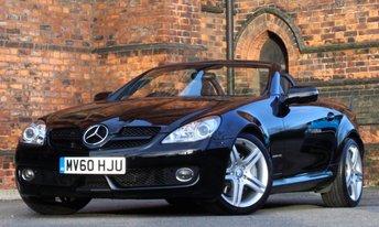 2010 MERCEDES-BENZ SLK 1.8 SLK200 KOMPRESSOR 2d AUTO 184 BHP £11775.00