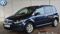2012 VOLKSWAGEN TOURAN 1.6TDi SE BLUEMOTION TECHNOLOGY ESTATE 7-SEATER 5 DOOR 103 BHP £10990.00