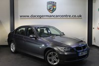 USED 2008 57 BMW 3 SERIES 2.0 320I SE 4DR 169 BHP + 1 OWNER FROM NEW + CRUISE CONTROL + PARKING SENSORS + AUXILIARY PORT + 16 INCH ALLOY WHEELS +